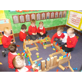 Imaginative play with our friends