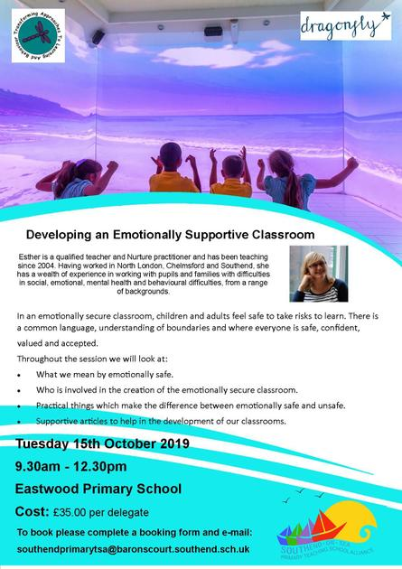Developing an Emotionally Supportive Classroom