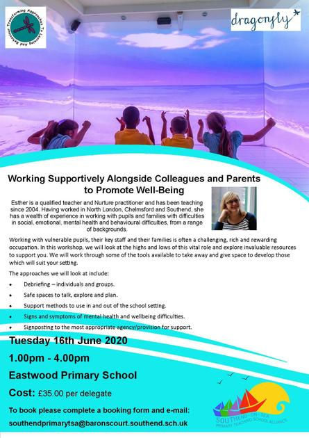 Working with Colleagues and Parents