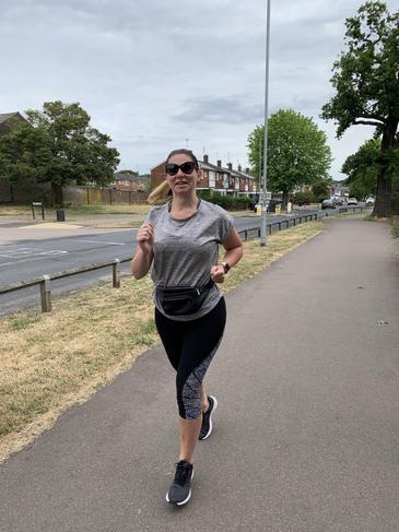 Ella has been running to help her mental health