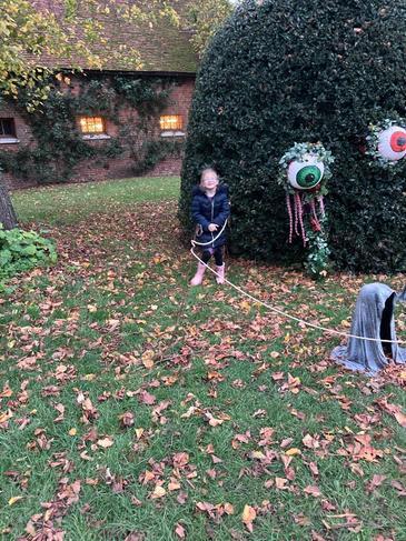 Pumpkin trail at Hatfield House