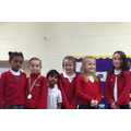 West Area Partnership Spelling Bee Finalists