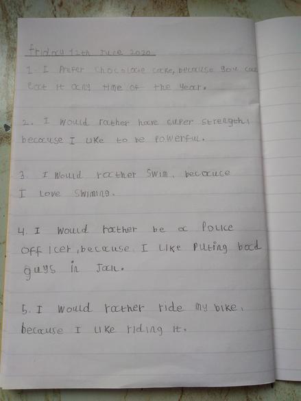 Fantastic English sentences