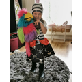 Pirate LG  and her parrot