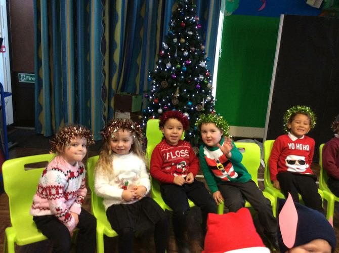 First our Christmas show...