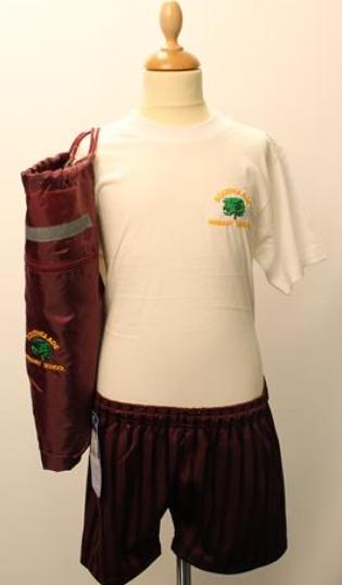 Our PE uniform at Southglade
