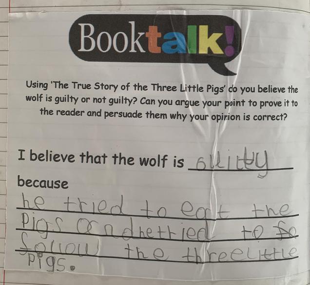Brilliant book talk