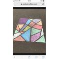 Artwork exploring colour