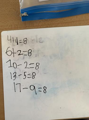Wonderful maths work