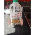 Elliott's bird feeder