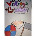 Alicia's viking work