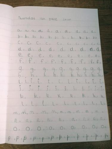 Wonderful Handwriting