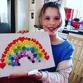 Eden's button rainbow
