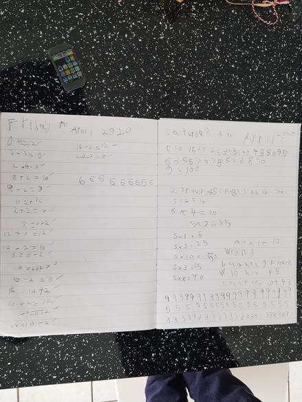 Great maths work