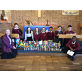 Some Southglade role models with food donations