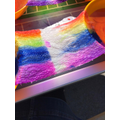 Science experiments with colour