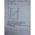 Year 4 plotted the coordinates of their initial
