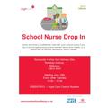 School Nurse Drop In Sessions