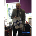 Mr Greenstein telling us about The Star of David