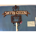 The South Green Sign helping us to learn about the history of South Green