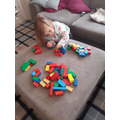 Abbie Sorting shapes