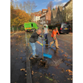 Working with the Community to tidy our School