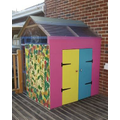 Writing Shed made by our Amazing Parents!