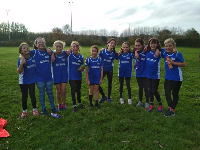 Girls Cross-Country Team - Great efforts!