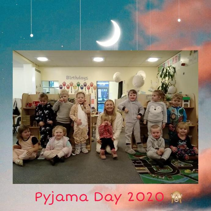 We had such a comfy day in Nursery.