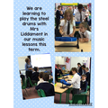 We are learning to play the 'Kookaburra' song