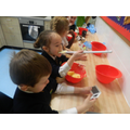 mixing and measuring
