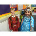 This is Queen Esther and King Ahasuerus of Persia
