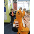My pencil is shorter than the tiger.