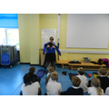 Our Yr 6 teacher is an assistant diving instructor