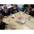 The children made 'graggers'
