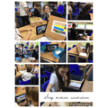 Using stop motion animation to create movement