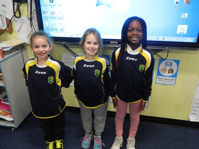 Lillie-Rose, Madalena and Zainab