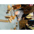 Building dinosaur habitats using small world
