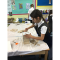 Using a variety of materials