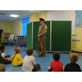 He told us about the weapons used in WW1