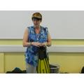 Mrs Sullivan told us some diving stories