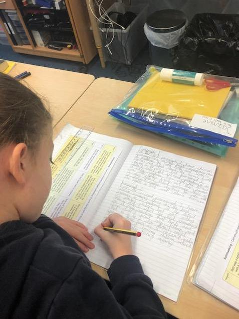 Year 4 Writing Lesson