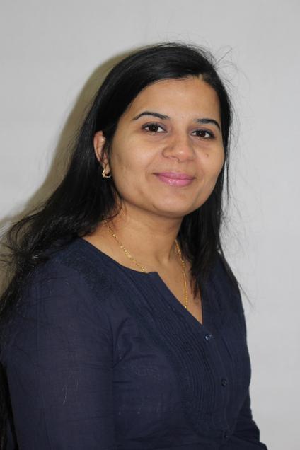 Miss B. Bharadwaj- Year 2 Teaching Assistant