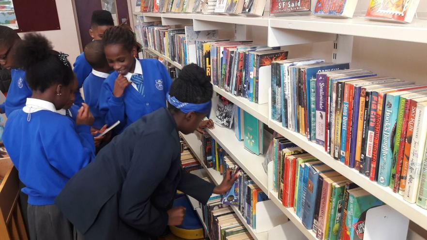 Browsing the shelves