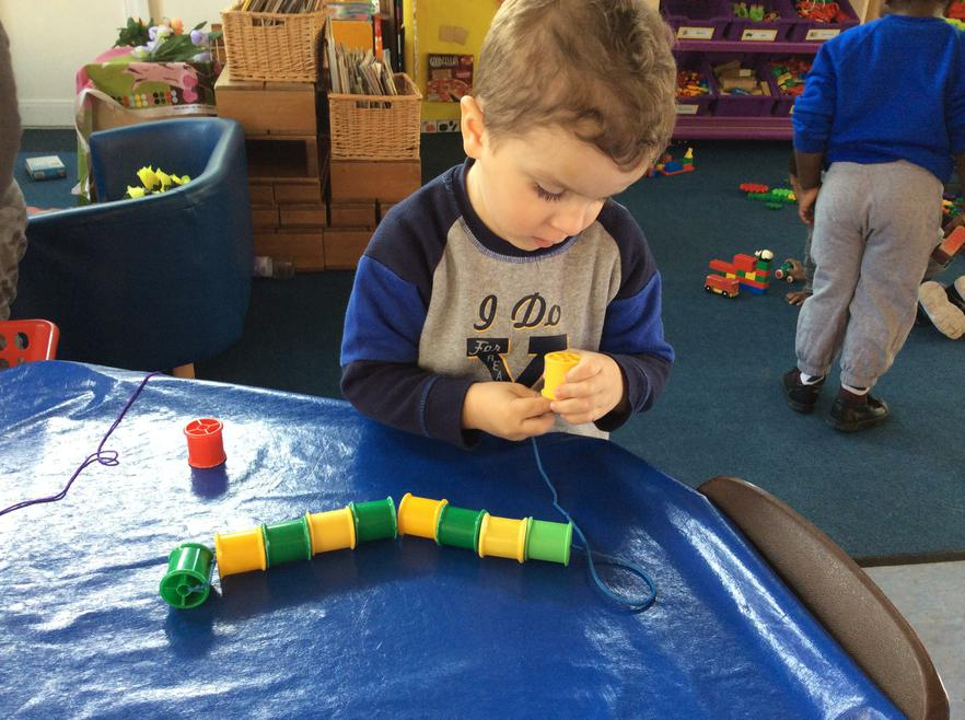 We have been learning about patterns