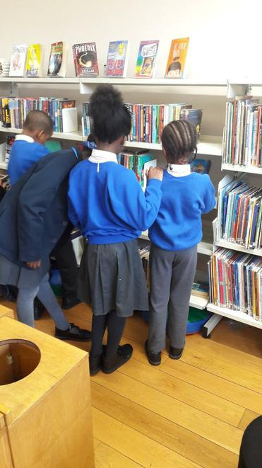 Our library visit