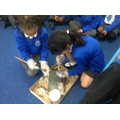 We had to clean our artefacts!