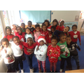 Look at all our Christmas jumpers!