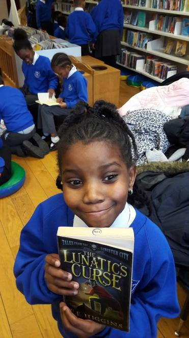 Happy with our book selection