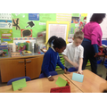 St. Clare's showed St. Francis their class museum